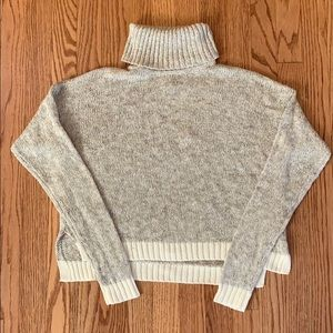 Soft, boxy Aerie turtleneck